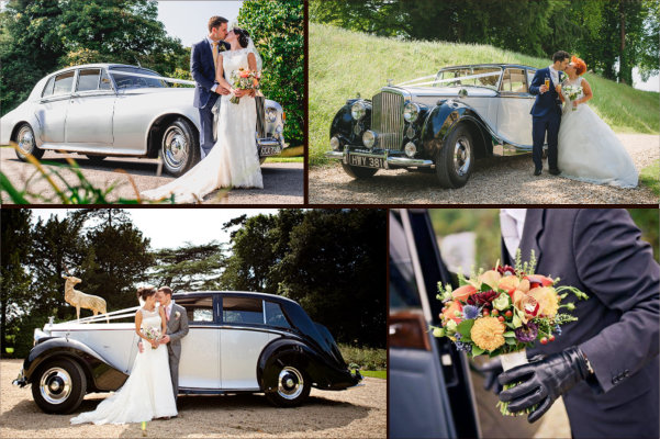 Wedding car hire in Warminster, Wiltshire