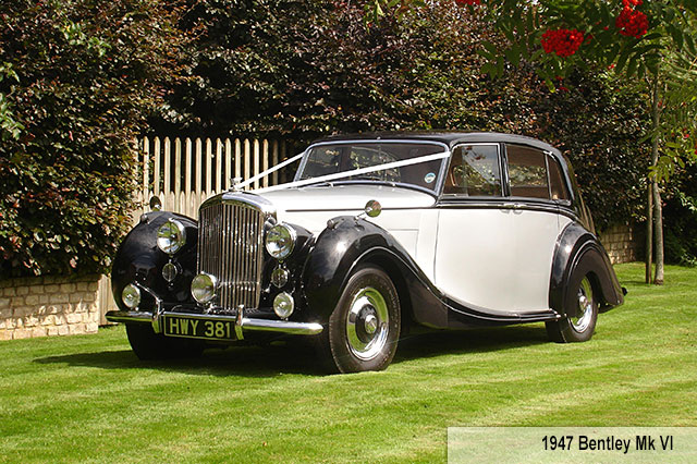Bentley Mk VI Wedding Car