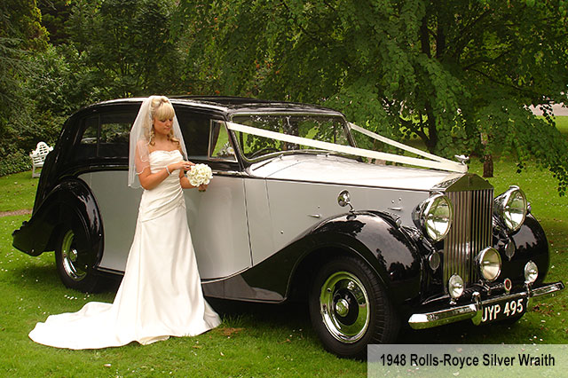 Rolls Royce Silver Wraith Wedding Car