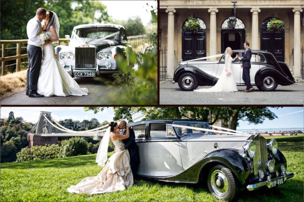 De Gournay Wedding Cars - Available for your wedding in Bristol & Bath
